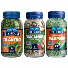 Litehouse Freeze-Dried Herbs Flavors of Easy Guacamole, 3-Pack lot