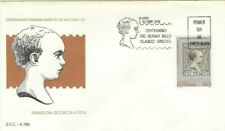 Spd Fdc First Day Cover Spain Edifil #3024 Centenary of the Bold 1989