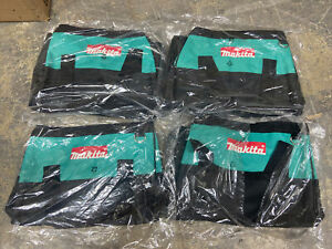Brand New Makita 14 Inch Contractor Tool bag with reinforced handles (4 Pack)