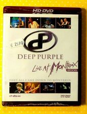 DEEP PURPLE  -  LIVE AT MONTREUX 2006  -  HD DVD 2007 NUOVO E SIGILLATO