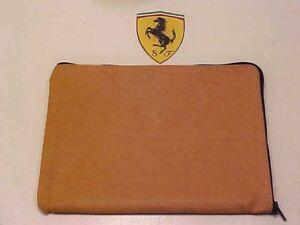 Ferrari 512 BB Tool Kit Leather Pouch Case_Tan_365 BB_Boxer_OEM
