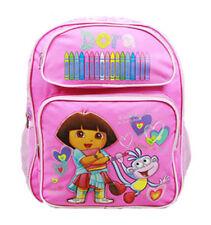 14IN Dora the Explorer Crayon Medium Backpack #41006PK