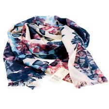 Morgan & Oates Scarf Cashmere & Wool Blend Floral Wrap Shawl Pashmina - New