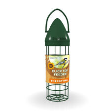 Peckish Click Top Energy Ball Feeder - Easy Fill And Clean