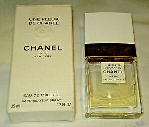 UNE FLEUR DE CHANEL gebraucht Eau de Toilette ehemals 35ml original Karton