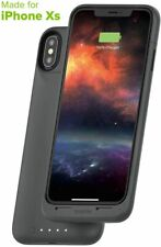 mophie Juice Pack Air Wireless Charging Battery Case iPhone Xs & X - Graphite