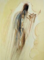 Dali Salvador: Paradise 29 - Holz Graviert Origina,l1960-1963,La Divine Komödie