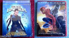 SPIDERMAN 3 / TOMB RAIDER Edición especial coleccionista - Precintadas