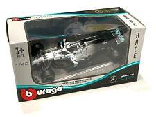 Bburago 1:43 Formula F1 W10 Mercedes AMG Petronas 44# Lewis Hamilton Model Car