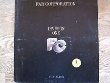 "LP - FAR CORPORATION - DIVISON ONE THE ALBUM ""TOPZUSTAND!"""