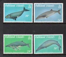 FALKLAND ISLANDS M/M 1989 SG583-586 BALEEN WHALES