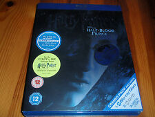 Harry Potter and the Half-Blood [Region Free][BLU-RAY&DVD][2010]