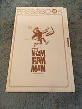 THE FLIM FLAM MAN(1967)GEORGE C. SCOTT ORIGINAL PRESSBOOK.