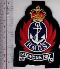 Canada Royal Canadian Navy RCN HMCS Medicine Hat J256 Minesweeper Bangor Class