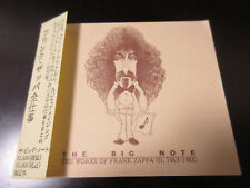 The Big Note - Works of Frank Zappa Book incl Discography Data, Japan Sold Issue