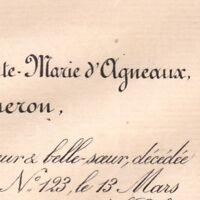 Armande Christine Sainte-Marie D'Agneaux De Gaigneron 1884