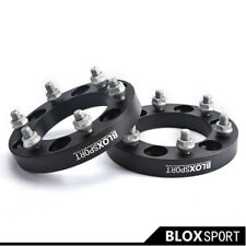"""25mm (2) For Nissan Pickup 1997-2007 Wheel Spacer Adapter (6x5.5"""" 6x139.7 CB110)"""
