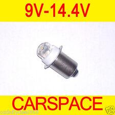 LED Torch Work Light Bulb 9V 9.6V 12V 14.4V for Bosch Makita AEG Dewalt Hitachi