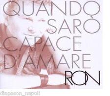 Ron: Quando Saro' Capace D'amare - CD