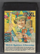 Mego Corp 2-Xl Talking Robot 8 Track Tape Metric System Education Tested Works