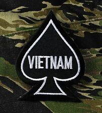 Vietnam Ace Spade Patch Death Dealer
