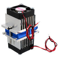 Thermoelectric Peltier Cooler Refrigeration Cooling System & fan DIY kit