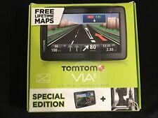 "TOMTOM Via 135 M SPECIAL EDITION Sat Nav 5"" UK Western Europe Free lifetime Maps"