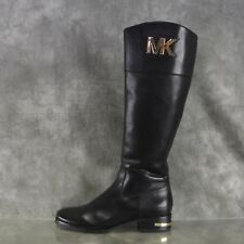 NEW Michael Kors Riding Boots Black Boots Women's size 6 M New $325  ANB