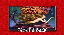 MERMAID VINTAGE ART DECO PIN UP GIRL VINYL CHECKBOOK COVER