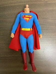 Mezco One:12 1978 Superman BODY, SUIT, FIST HANDS Christopher Reeve Buck Figure
