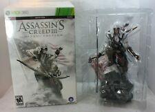 XBOX 360 Assassin's Creed III 3 Gamestop Edition LE CONNOR Statue