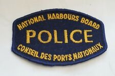 Canadian National Harbours Board Police Patch Obsolete