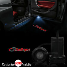 2x Car Door Welcome LED Laser Projector Ghost Shadow Light For Dodge Challenger