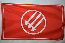 German Eiserne Front Anti-Nazi Weimar Republic Red Garage Basement Flag 3x5
