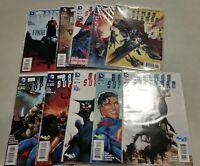 Batman Superman #8 9 10 11 12 13 - 17 DC New 52 10 Comic run 2014 1st Print NM