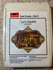 Live Cream - Vol. 2 - 8 track tape