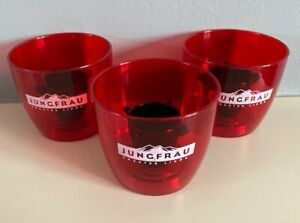 3 X Promotional Bomb Cups Reusable JagerBomb Cups Shots Jungfrau Jagermeister