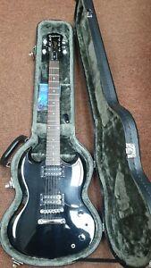 Epiphone SG Special Vintage Black With Epiphone Hard Case