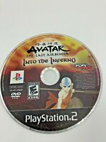 Sony PlayStation 2 PS2 Disc Only Avatar The Last Airbender Into the Infero