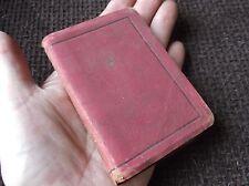 ANTIQUE MINI SUEDE BACK BOOK 1841? ROBERT LOUIS STEVENSONS PRAYERS CHATTO WINDUS