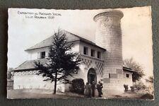 CPSM. 1939. Exposition du Progrès Social. LILLE ROUBAIX. Pavillon de la Marne.