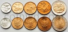 Indonesia 5 coins set 1994-1997 Animals, plants (#3853)