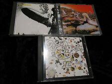 3 CD Sammlung Led Zeppelin   1, III, Coda und Houses of the holy Japan Pressung