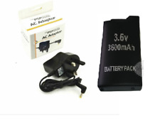 3600 Mah Replacement Battery + Adapter charger For Sony PSP-1001 PSP 1000