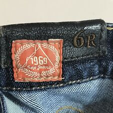 GAP 1969 JEANS BOOT CUT STRETCH SIZE 6REG 29 Inseam in Excellent Used Condition