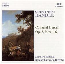 Handel: Concerti Grossi, Op. 3, New Music