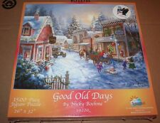 SunsOut 1500 Piece Jigsaw Puzzle Good Old Days Nicky Boehme New In Sealed Box