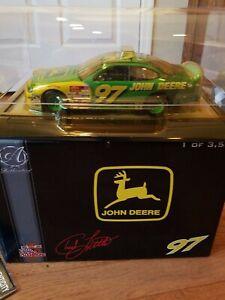1999 Racing Champions Authentics NASCAR 1:24 Chad Little #97 John Deere NEW
