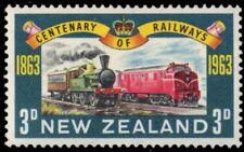 "NEW ZEALAND 362 (SG818) - Railway Centenary ""Locomotives"" (pf75009)"