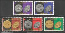 Ethiopia #1148-1152 (A239) VF MNH - 1986 5c to 1b Coins On Stamps